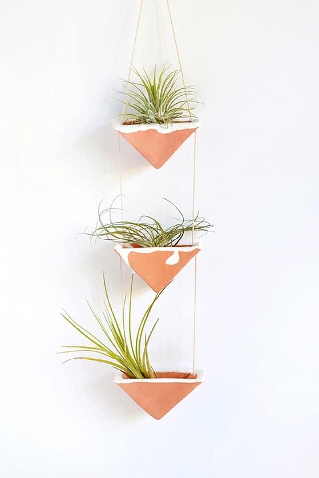 DIY Hanging Air Plant Holder ideas