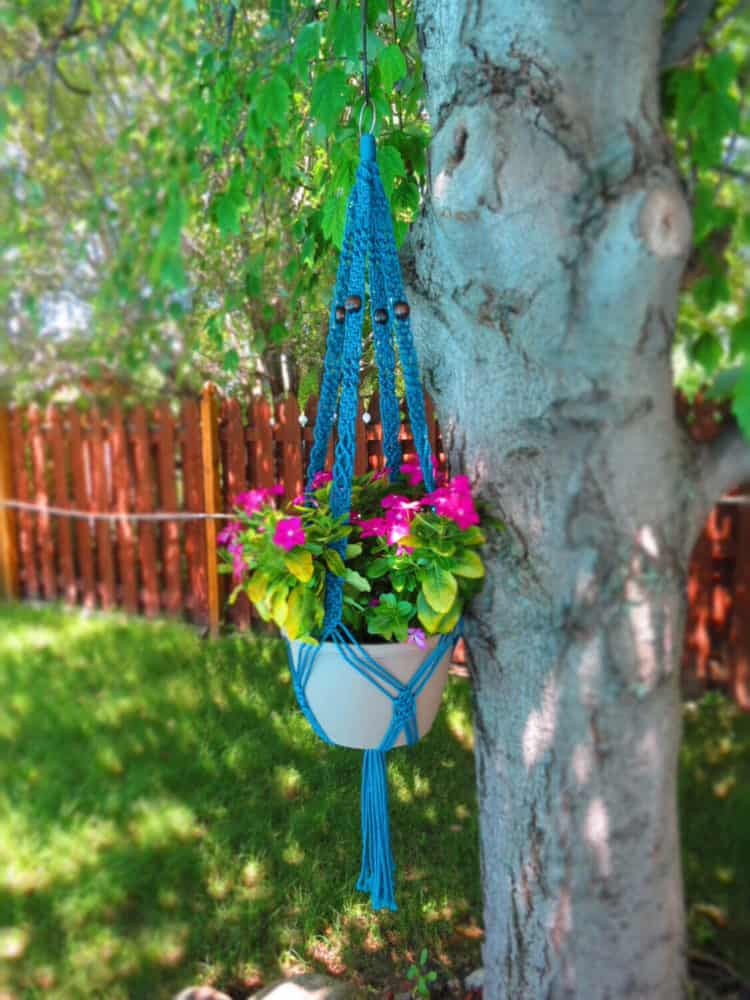Retro Macrame Hanging Flower Pot ideas