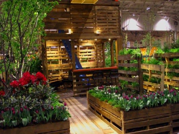 The Indoor Pallet Planter Garden PGI21