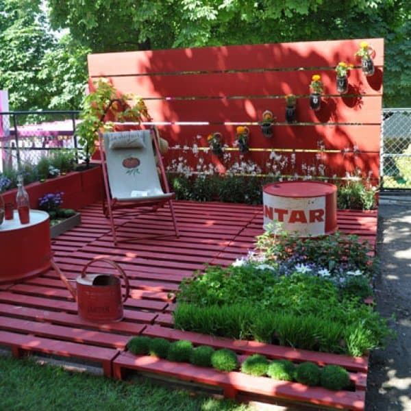 The Pallet Planter Garden Paradise PGI29