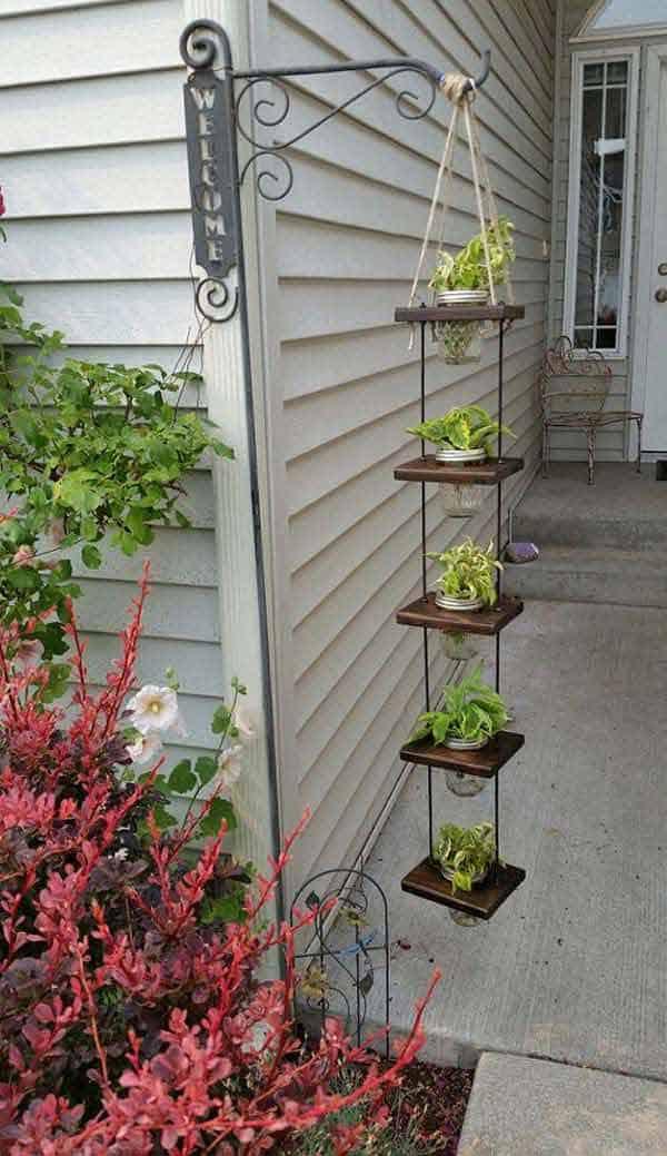 diy hanging planter ideas 11