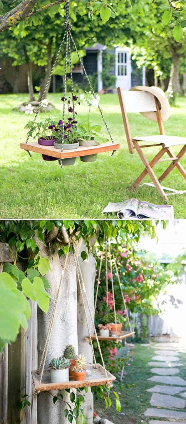 diy hanging planter ideas 17