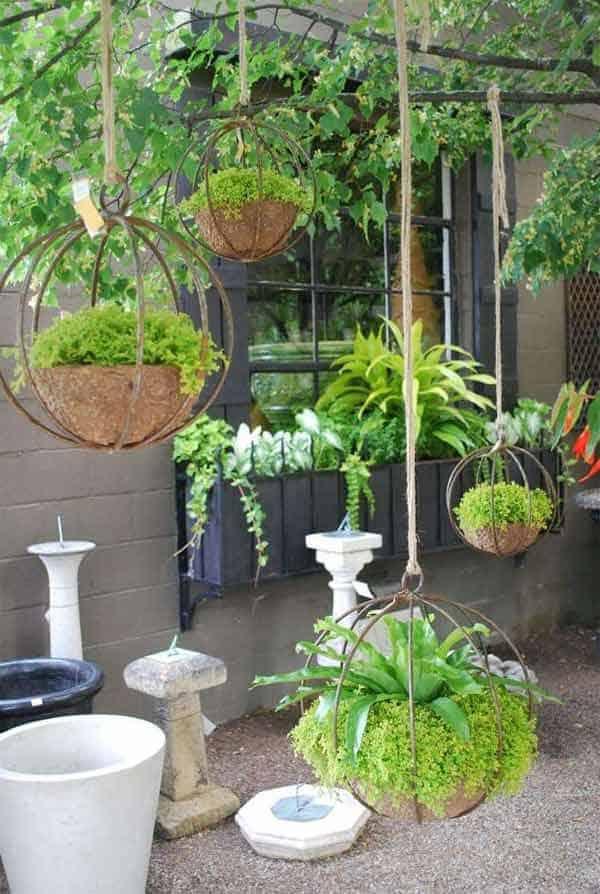 diy hanging planter ideas 18