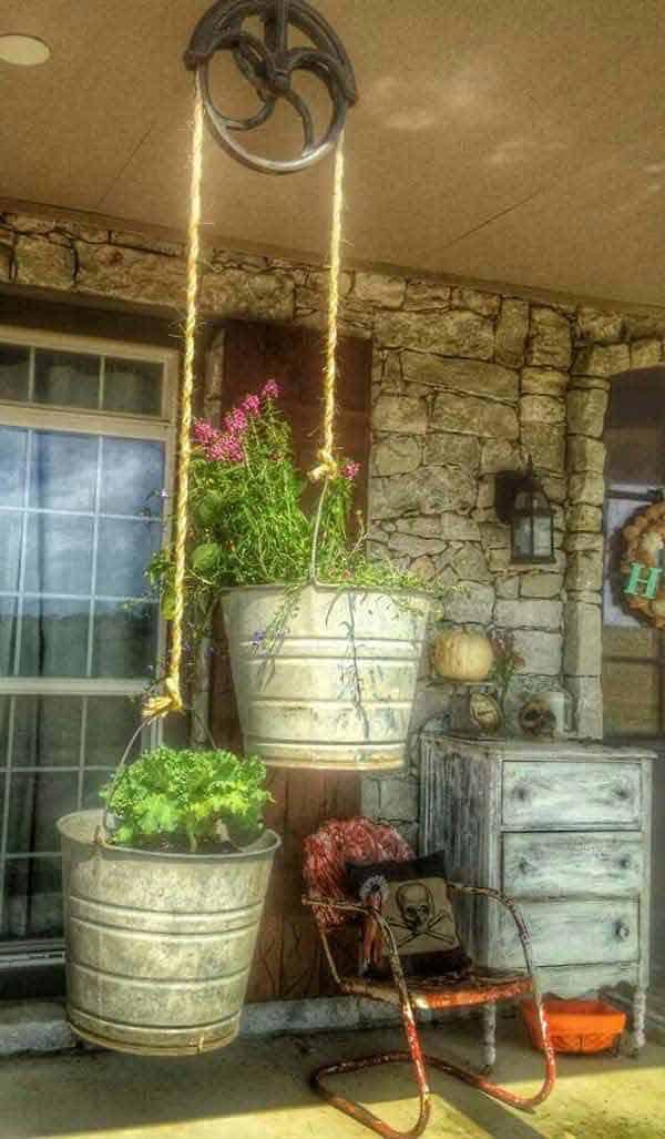 diy hanging planter ideas 4