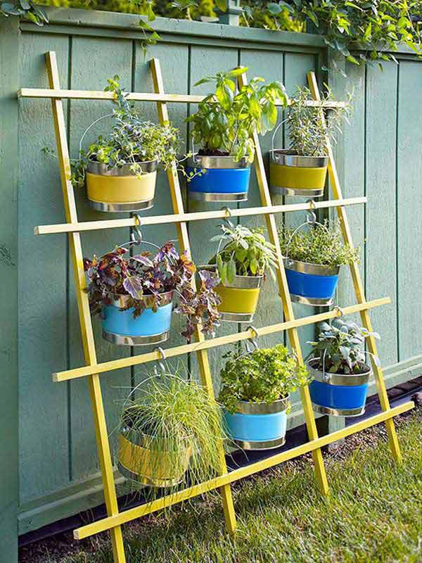 diy hanging planter ideas 7