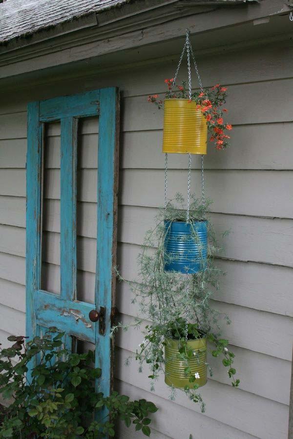 diy hanging planter ideas 9