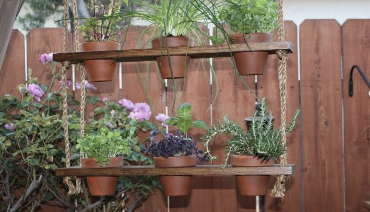 Wall Hanging Herb Garden