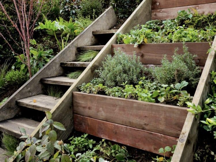 diy garden steps stairs ideas