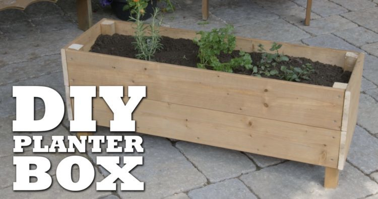 Easy Diy Planter Box Ideas For Beginners Morflora