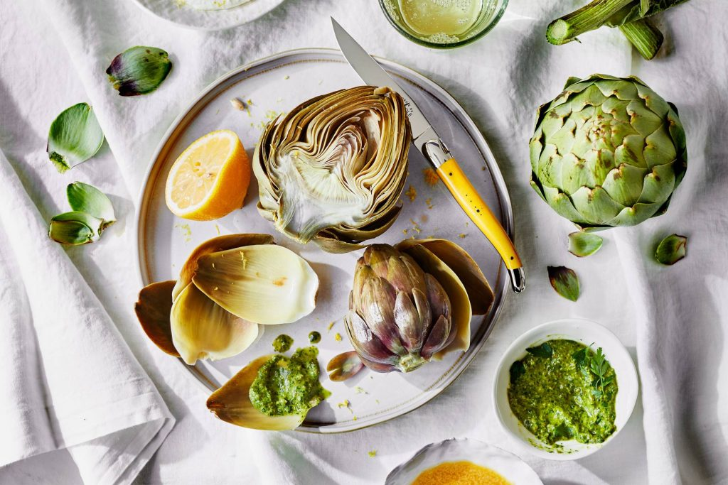 how to eat artichoke